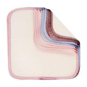Tvättlappar Lavendel, 10-pack ekologisk