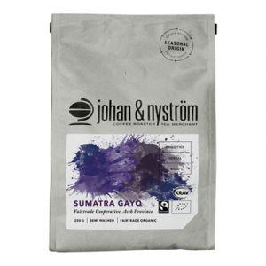 Johan & Nyström Sumatra Gayo FTO Hela Bönor – Ekologiskt Kaffe