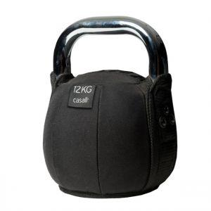 Kettlebell soft 12kg, Black