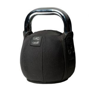 Kettlebell soft 6 kg, Black