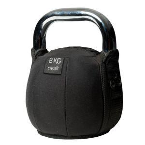 Kettlebell soft 8kg, Black