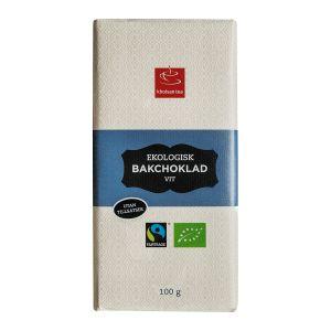 Bakchoklad vit, 100 g ekologisk