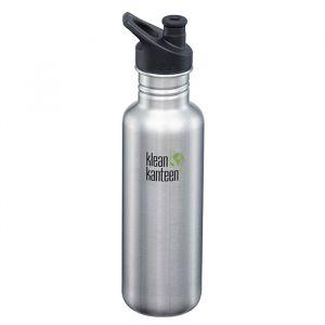 Klean Kanteen Classic Sportflaska Brushed Stainless – En BPA-fri vattenflaska