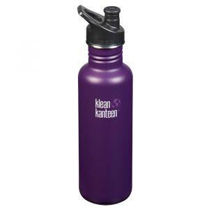 Klean Kanteen Classic Sportflaska Winter Plum – En BPA-fri vattenflaska