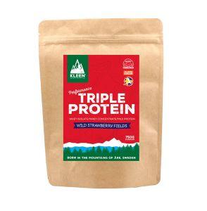 Triple Protein Powder – Wild Strawberry Fields, 750g