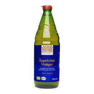 kung markatta appelcidervinager ofiltrerad 750ml krav ekologisk