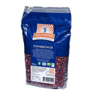 Kidneybönor, 500 g ekologisk