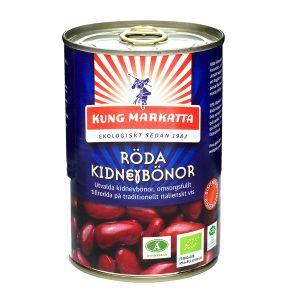 Röda Kidneybönor, 400 g ekologisk