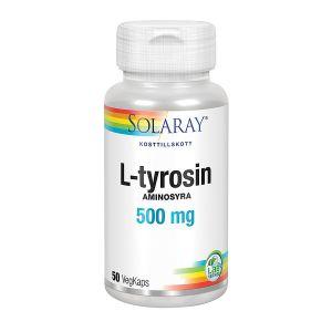 L-tyrosin, 50 kapslar