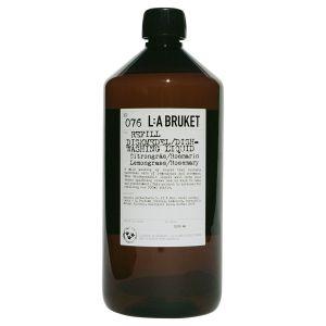 076 Refill Diskmedel Citrongräs/Rosmarin, 1000 ml