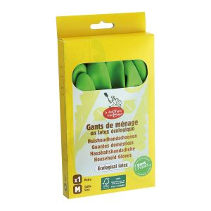 La Droguerie Écologique Naturlatex Handskar – av naturgummi