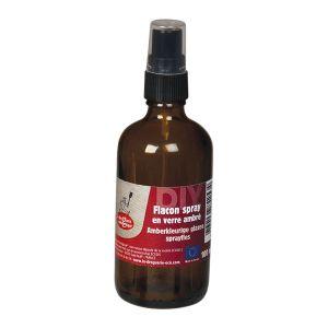 Sprayflaska Amber Glas, 100 ml