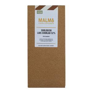 Malmö Chokladfabrik Bakchoklad Ljus Vegan – ekologisk choklad