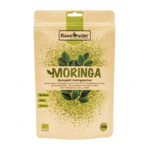 rawpowder moringa 250g pulver ekologisk