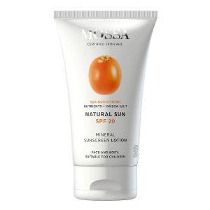 Natural Sun SPF20 Mineral Sunscreen Lotion, 100 ml