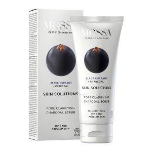 Skin Solutions Charcoal Scrub, 60 ml