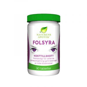 Folsyra, 90 tabletter
