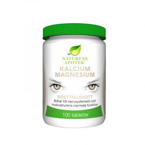 Kalcium & Magnesium, 100 tabletter