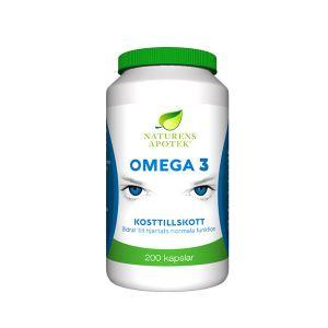 Naturens Apotek Omega 3 – Ett kosttillskott med Omega-3