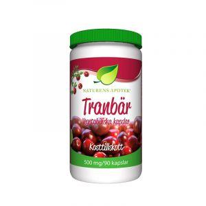 Naturens Apotek Tranbär 500mg – Kosttillskott på tranbär