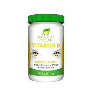 Naturens Apotek Vitamin D – Kosttillskott med D-vitamin