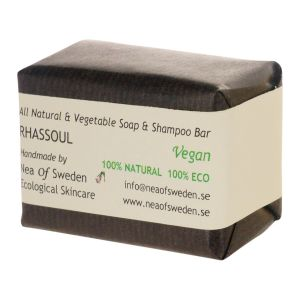 Soap & Shampoo Bar Rhassoul Doftfri, 110 g