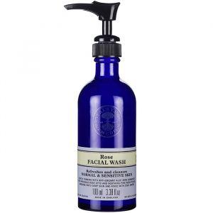 Rehydrating Rose Facial Wash, 100 ml ekologisk