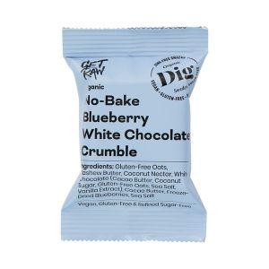 No-Bake smulpaj blåbär vit choklad, 35 g ekologisk