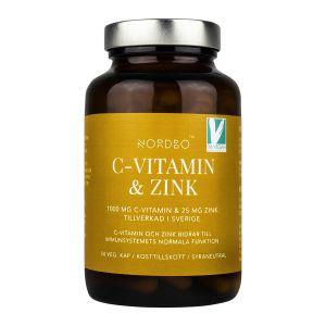 C-vitamin & Zink, 50 kap