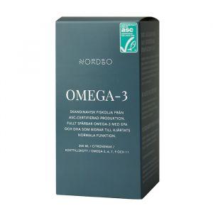 Nordbo Omega-3 Flytande – ASC-certifierad