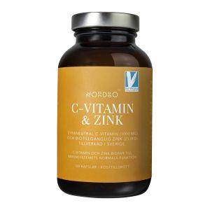 C-vitamin & Zink, 100 kap