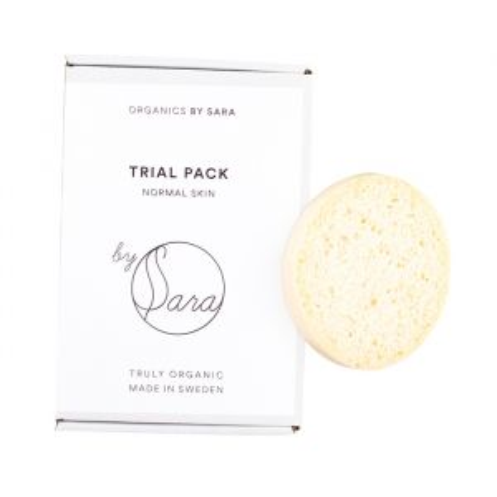 Organics by Sara Trial Pack Normal Skin – provpaket