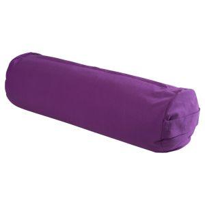 Yogabolster Maxi Purpur, 23 x 70 cm
