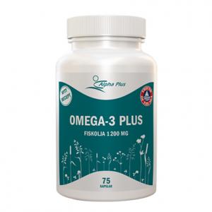 Alpha Plus Omega-3 Plus – Kosttillskott med Omega-3
