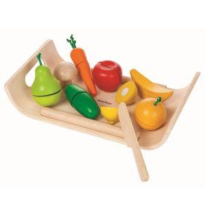 Bricka med frukt & grönsaker