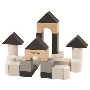 Plantoys Mini Byggklossar – I ekologiskt trä
