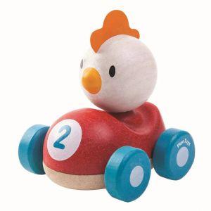 Bil med kyckling