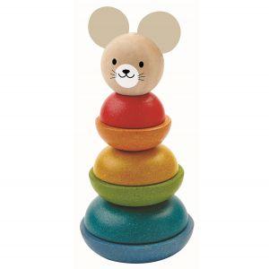 Stapeltorn med mus