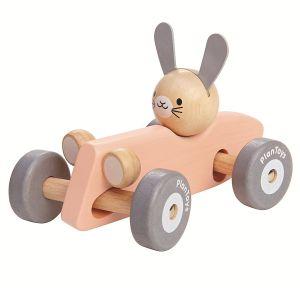 Stor bil med kanin