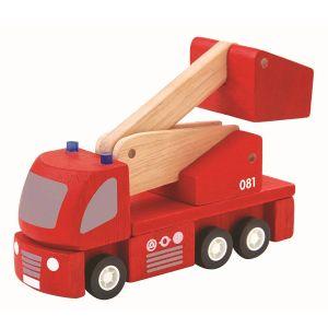 Plantoys Brandbil – Röd miniatyrbrandbil