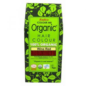 Colour Me Organic Wine Red,