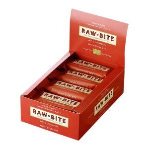 Rawbite Frukt- & Nötbar Äpple & Kanel – ekologisk rawbar