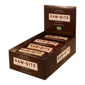 Rawbite Frukt- & Nötbar Kakao – ekologisk rawbar