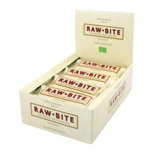 Rawbite Frukt- & Nötbar Kokos – ekologisk rawbar