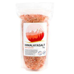 Himalayasalt rosa granulat, 1kg