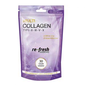 Re-fresh Superfood Multi Collagen – Kollagen typ 1,2, 3, 4, 5 & 10