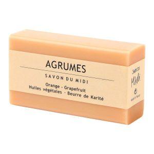 Tvål Apelsin & Grapefrukt Agrumes, 100 g ekologisk
