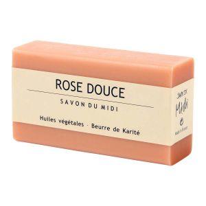 Tvål Ros Douce, 100 g ekologisk