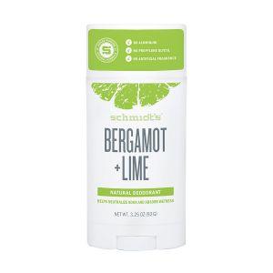 Schmidts Natural Deodorant Bergamot + Lime Stick