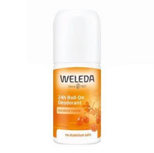 Weleda Sea Buckthorn 24h Roll-On Deodorant - naturlig deodorant